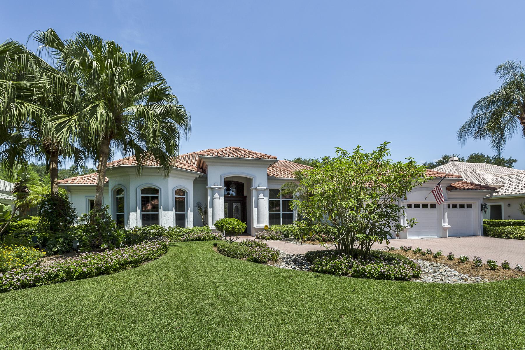 Maison unifamiliale pour l Vente à Arbor Glen 6660 Glen Arbor Way Vineyards, Naples, Florida, 34119 États-Unis