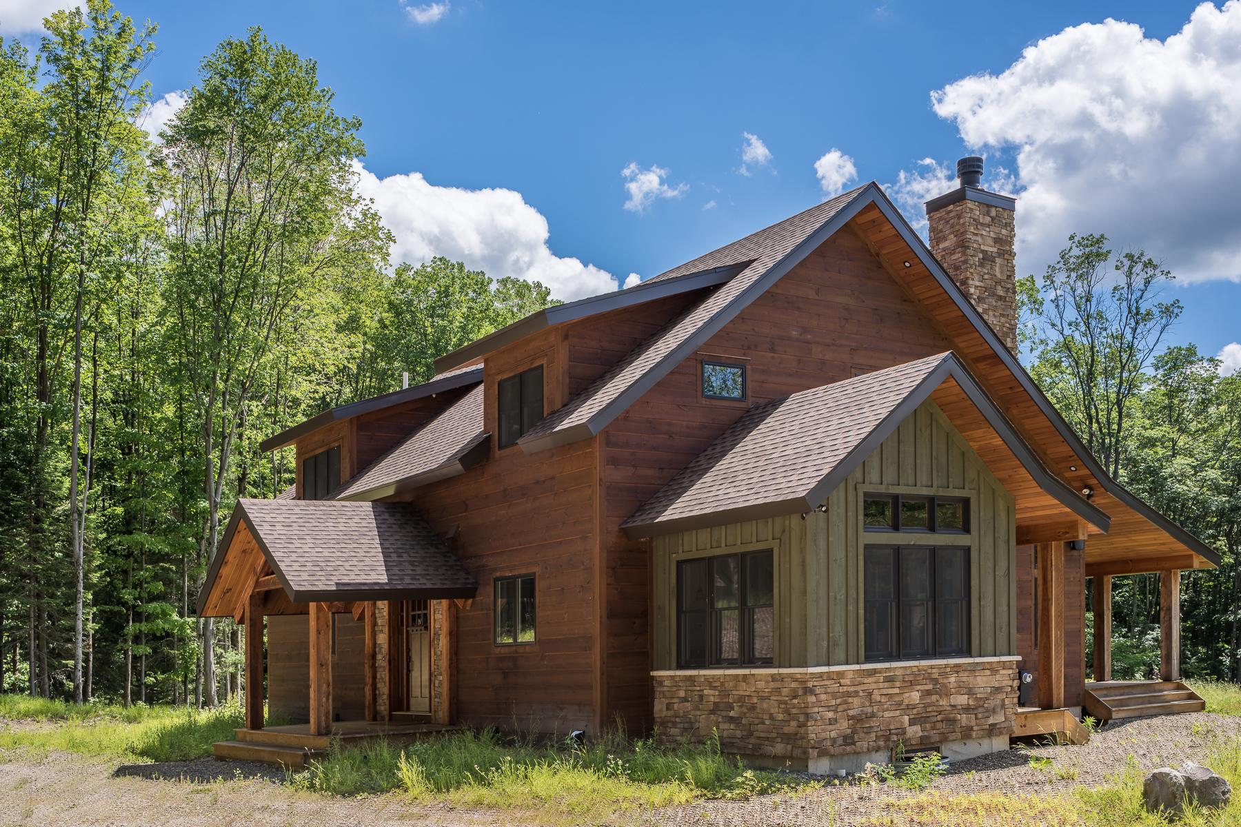 Maison unifamiliale pour l Vente à Custom Mountain Retreat 6405 Witch Hollow Rd Ellicottville, New York 14731 États-Unis