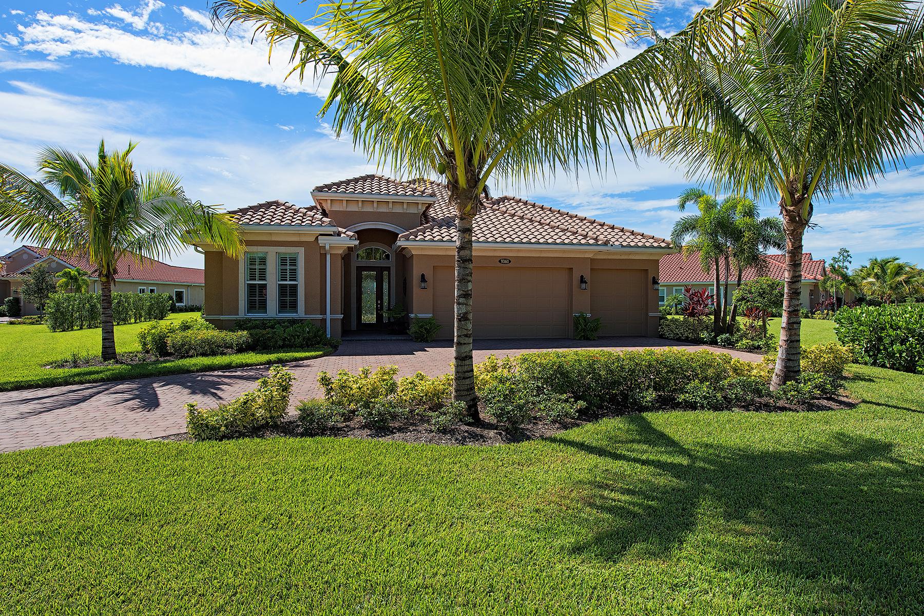 Tek Ailelik Ev için Satış at FIDDLERS CREEK 9360 Vadala Bend Ct Naples, Florida, 34114 Amerika Birleşik Devletleri