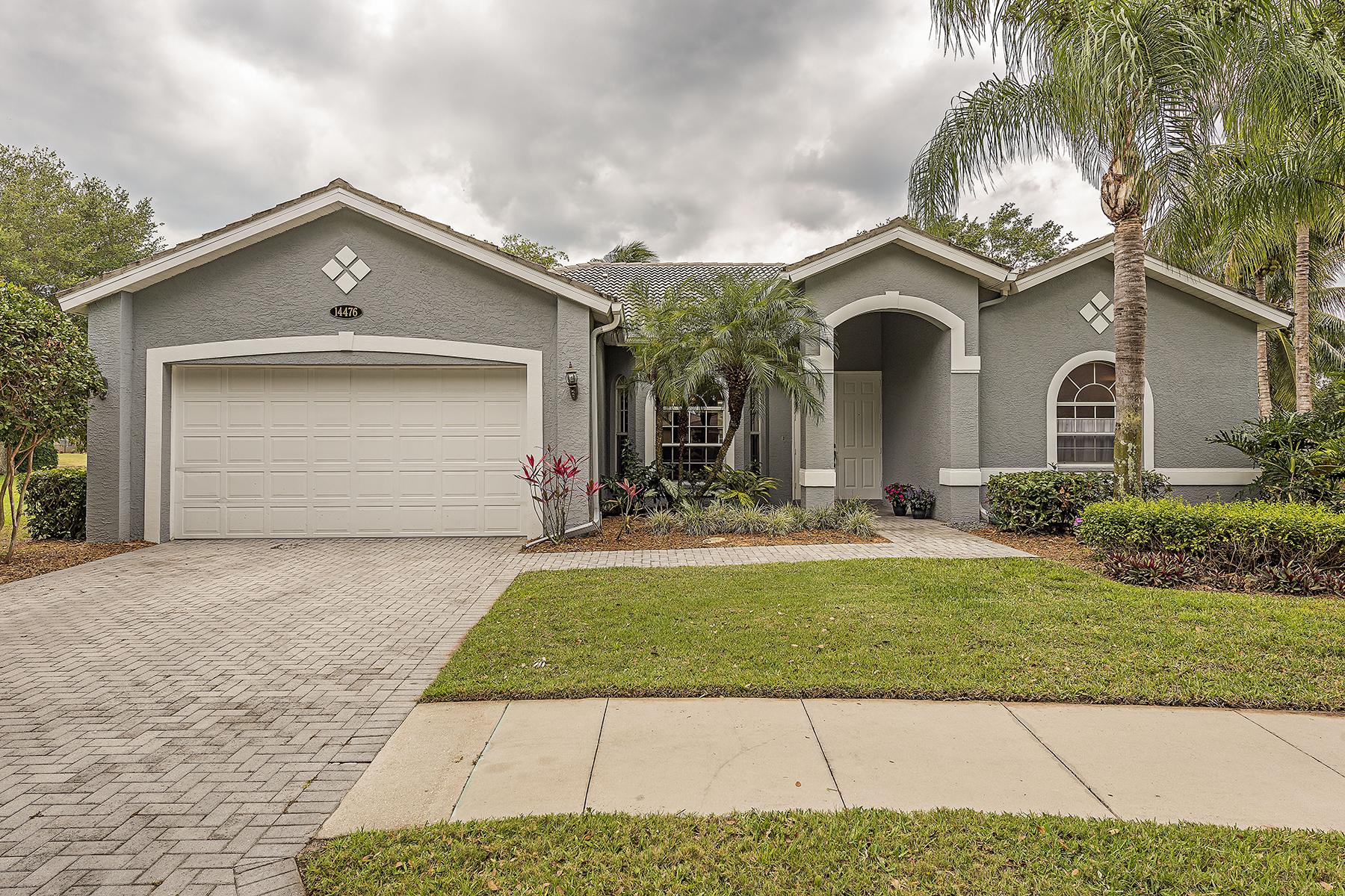 Single Family Home for Sale at INDIGO LAKES 14476 Jekyll Island Ct Naples, Florida, 34119 United States