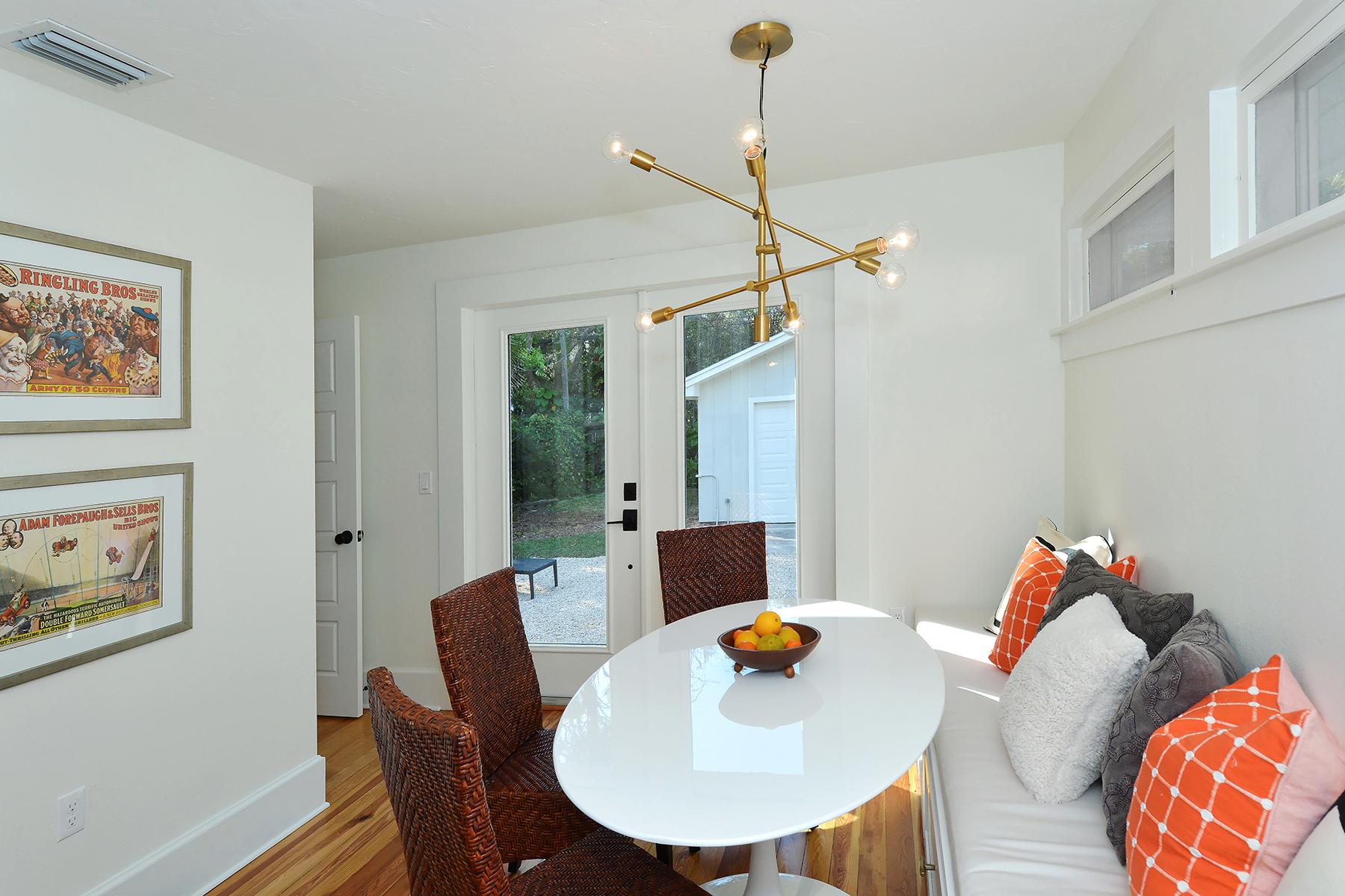 단독 가정 주택 용 매매 에 SARASOTA 1744 Irving St, Sarasota, 플로리다, 34236 미국