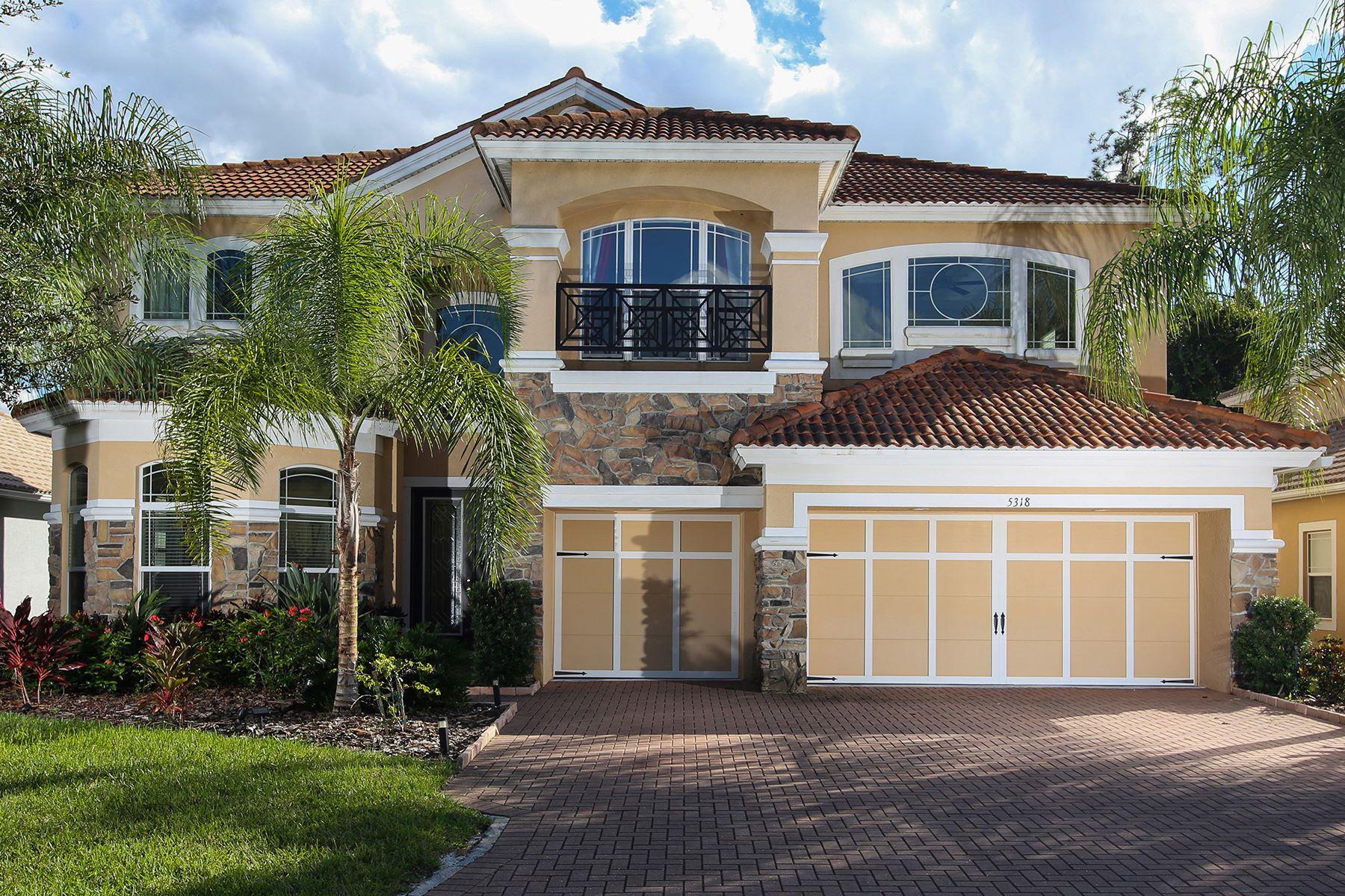 Vivienda unifamiliar por un Venta en SONOMA 5318 Napa Dr Sarasota, Florida, 34243 Estados Unidos