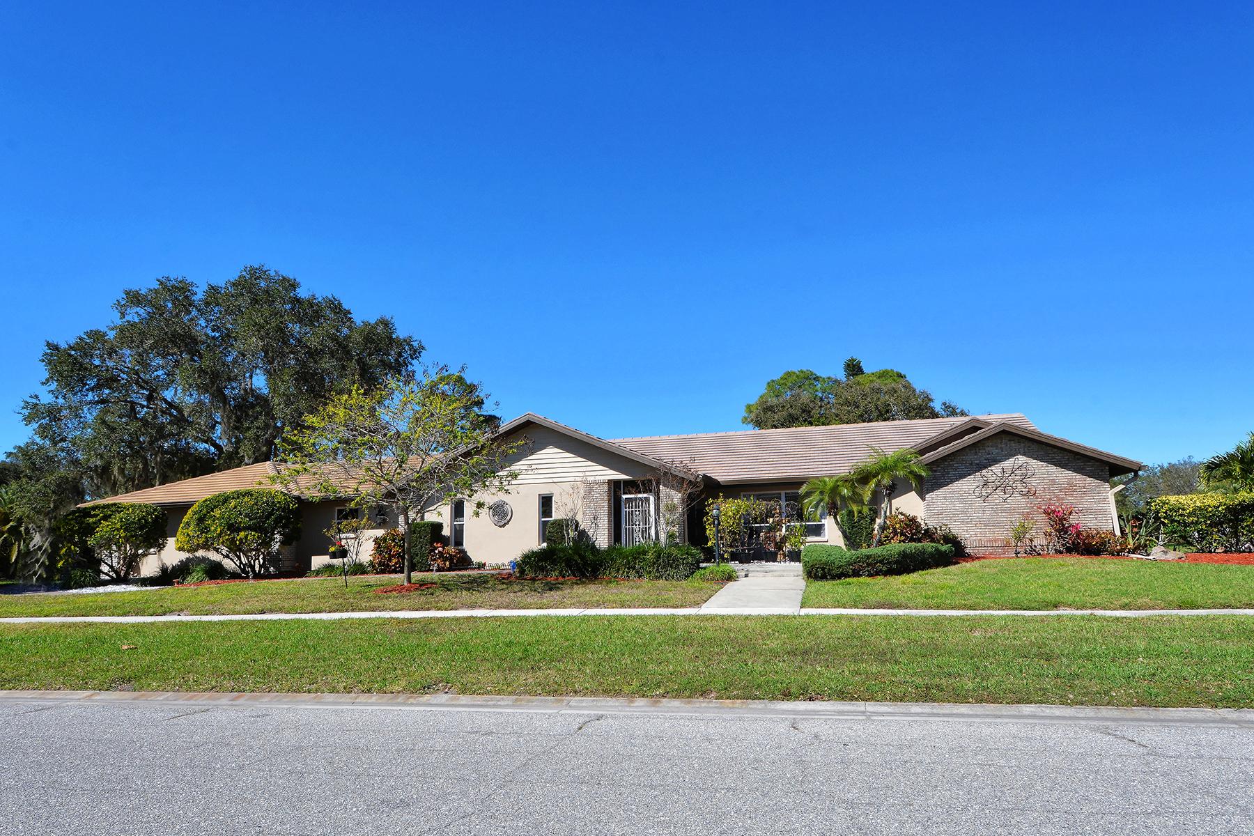 Tek Ailelik Ev için Satış at SORRENTO WOODS 1105 Sorrento Woods Blvd Nokomis, Florida, 34275 Amerika Birleşik Devletleri