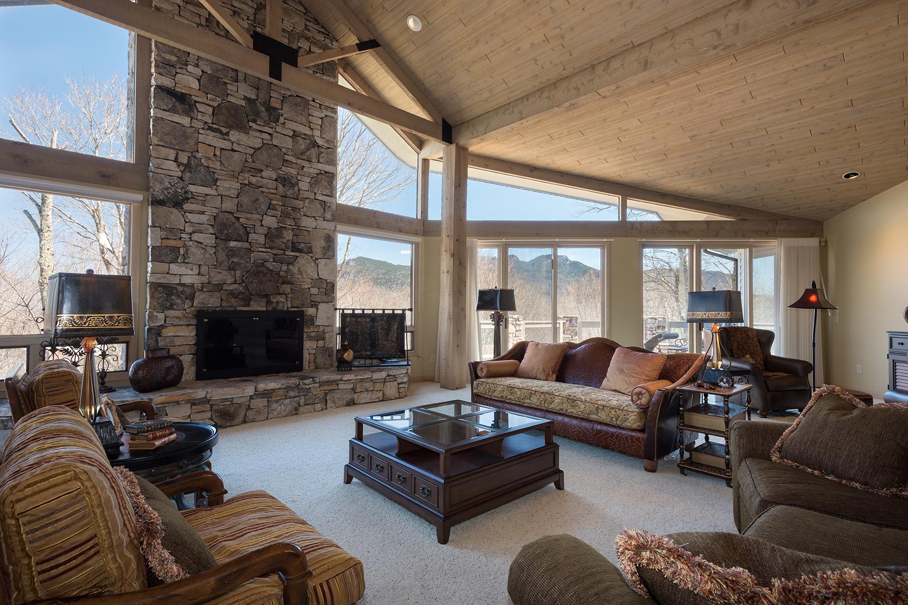 Casa para uma família para Venda às LINVILLE - LINVILLE RIDGE 1029 Ridge Drive Linville, Carolina Do Norte, 28646 Estados Unidos