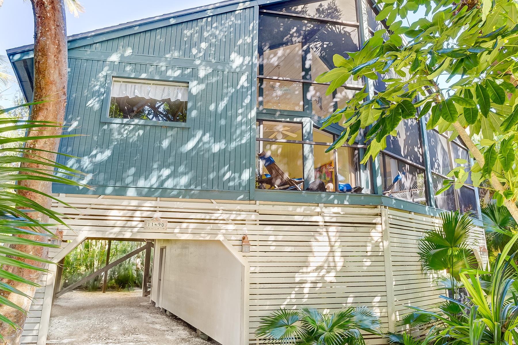 獨棟家庭住宅 為 出售 在 11490 Dickey Ln , Captiva, FL 33924 11490 Dickey Ln Captiva, 佛羅里達州, 33924 美國