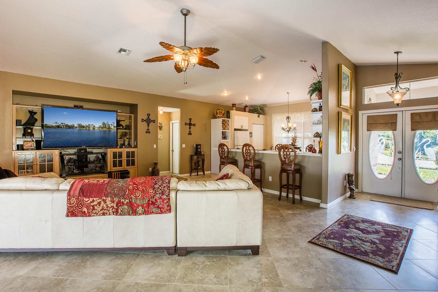 단독 가정 주택 용 매매 에 FORT MYERS-EAGLE RIDGE 7599 Woodland Bend Cir, Fort Myers, 플로리다, 33912 미국