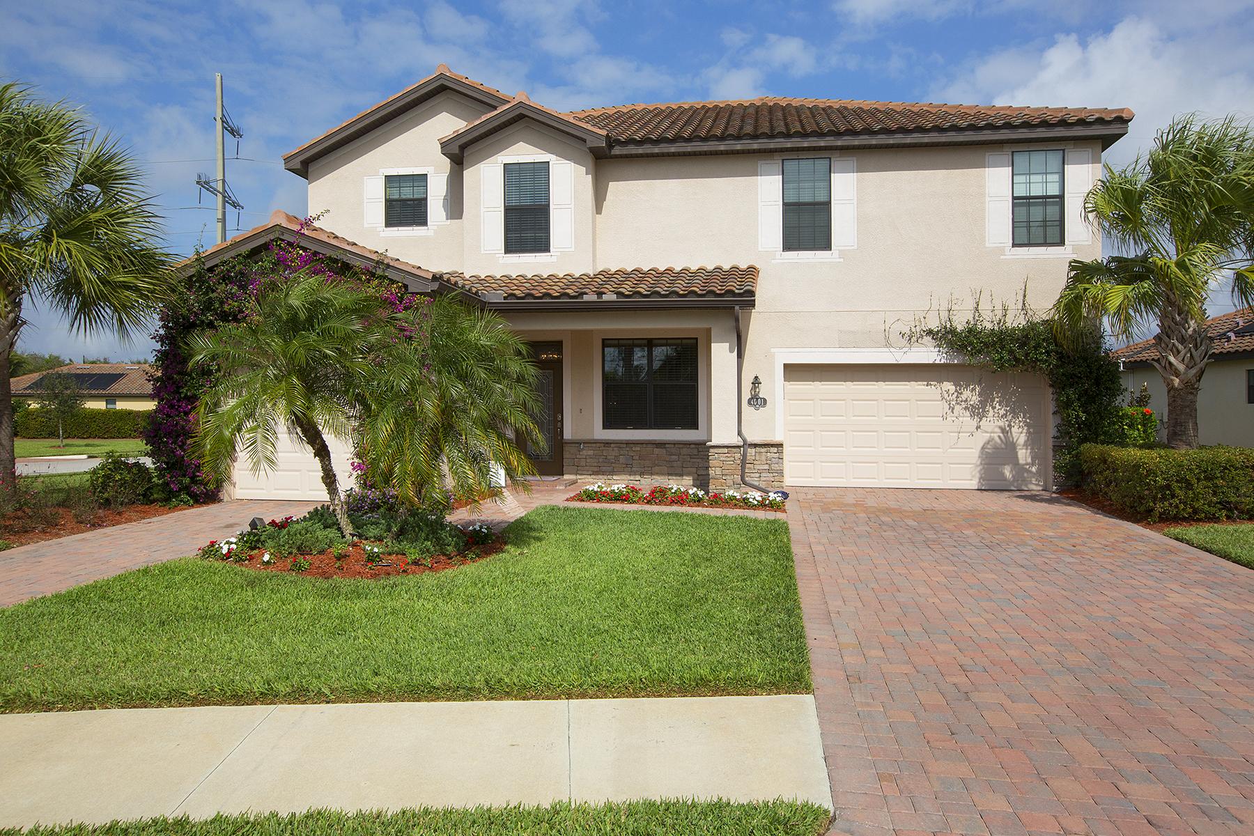 Частный односемейный дом для того Продажа на COPPER COVE 4001 Treasure Cove Cir Naples, Флорида, 34114 Соединенные Штаты
