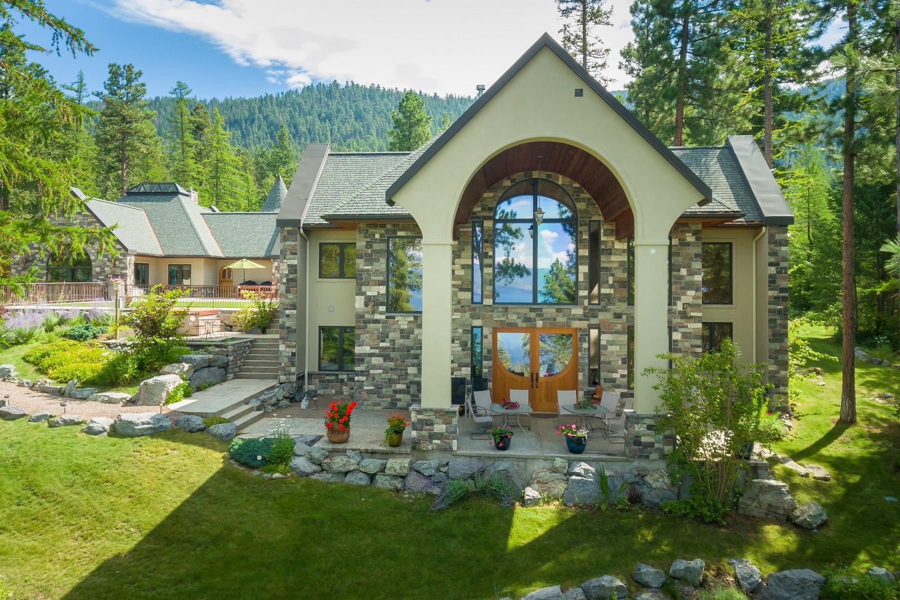 단독 가정 주택 용 매매 에 East Lake Shore , Bigfork, MT 59911 Bigfork, 몬타나, 59911 미국