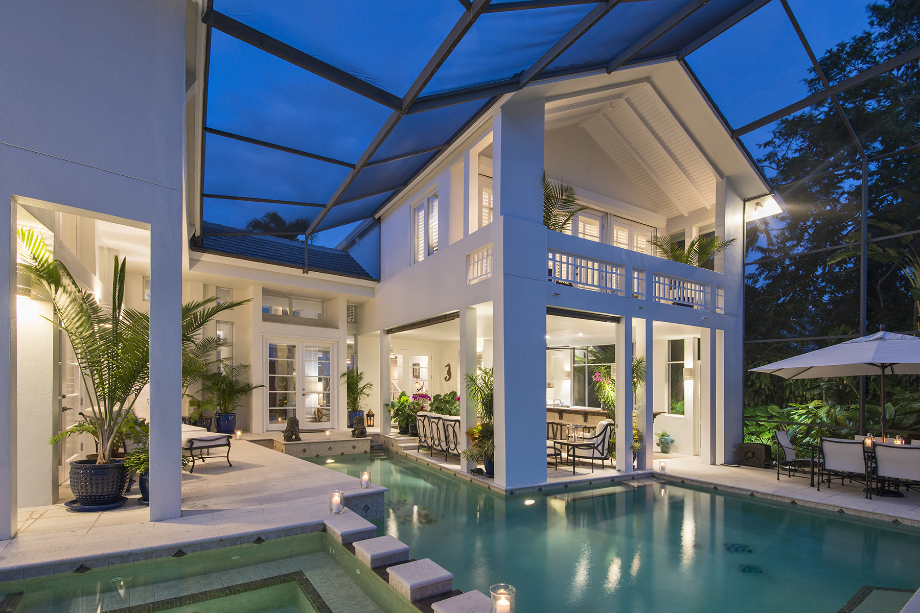 Single Family Home for Sale at COQUINA SANDS 584 Banyan Blvd, Naples, Florida, 34102 United States