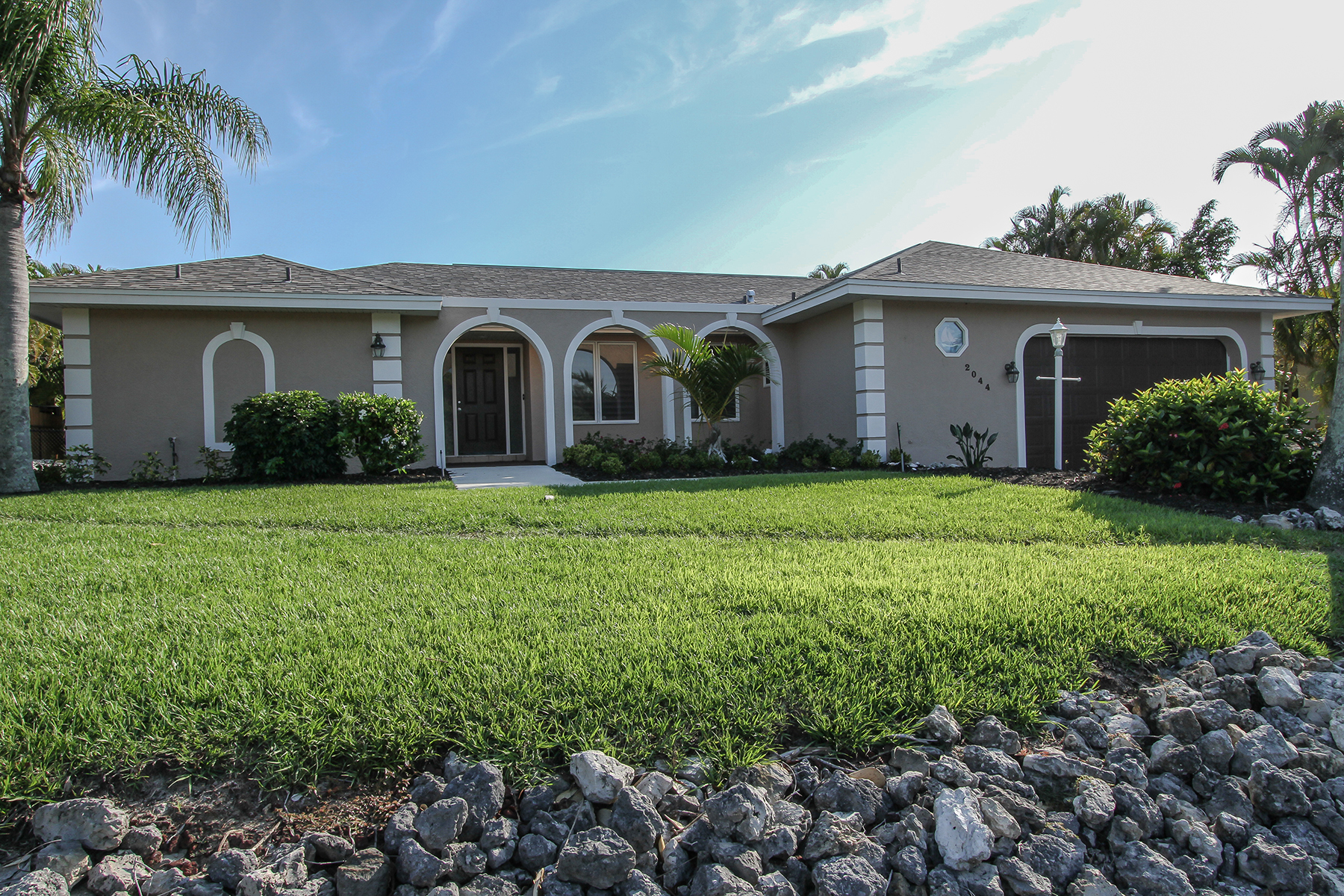 Single Family Home for Rent at MARCO BEACH 2044 Sheffield Ave Marco Island, Florida 34145 United States