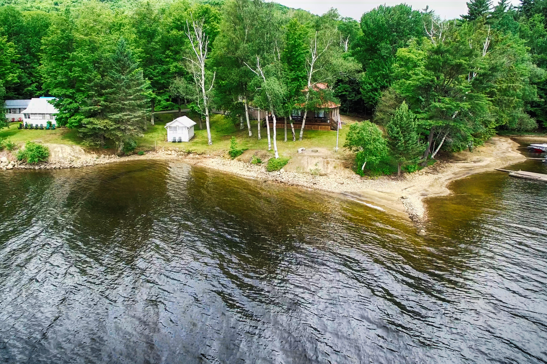 Additional photo for property listing at Sandy Beach on Indian Lake 5486  Nys Rte.30 Indian Lake, New York 12842 United States