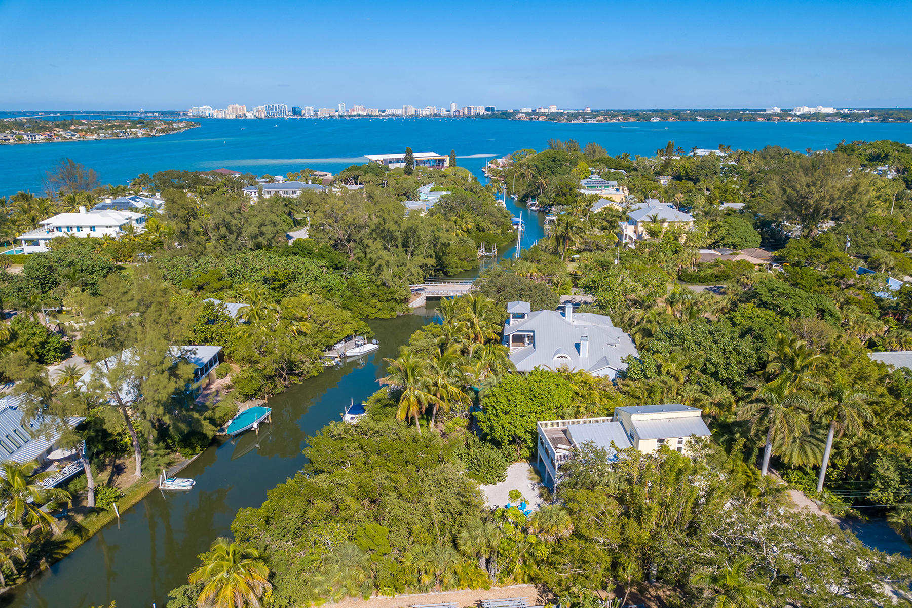 独户住宅 为 销售 在 SIESTA KEY 119 Faubel St, 萨拉索塔, 佛罗里达州, 34242 美国