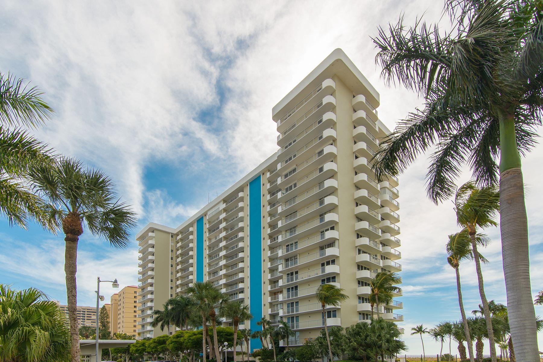 Appartement en copropriété pour l Vente à MARCO ISLAND - ADMIRALTY HOUSE SOUTH 140 Seaview Ct S 1104S Marco Island, Florida, 34145 États-Unis