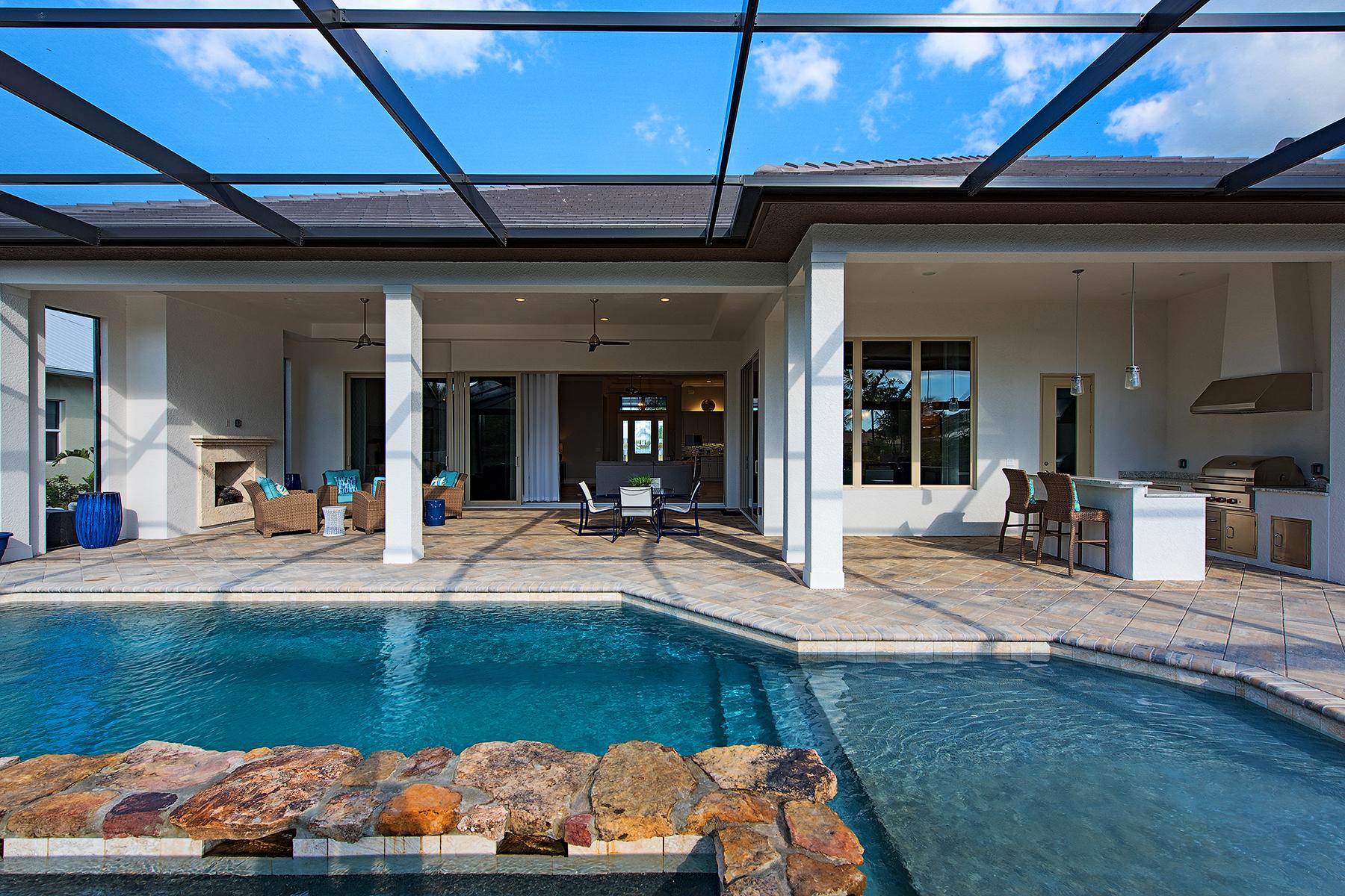Частный односемейный дом для того Продажа на PARROT CAY 14183 Charthouse Ct Naples, Флорида, 34114 Соединенные Штаты