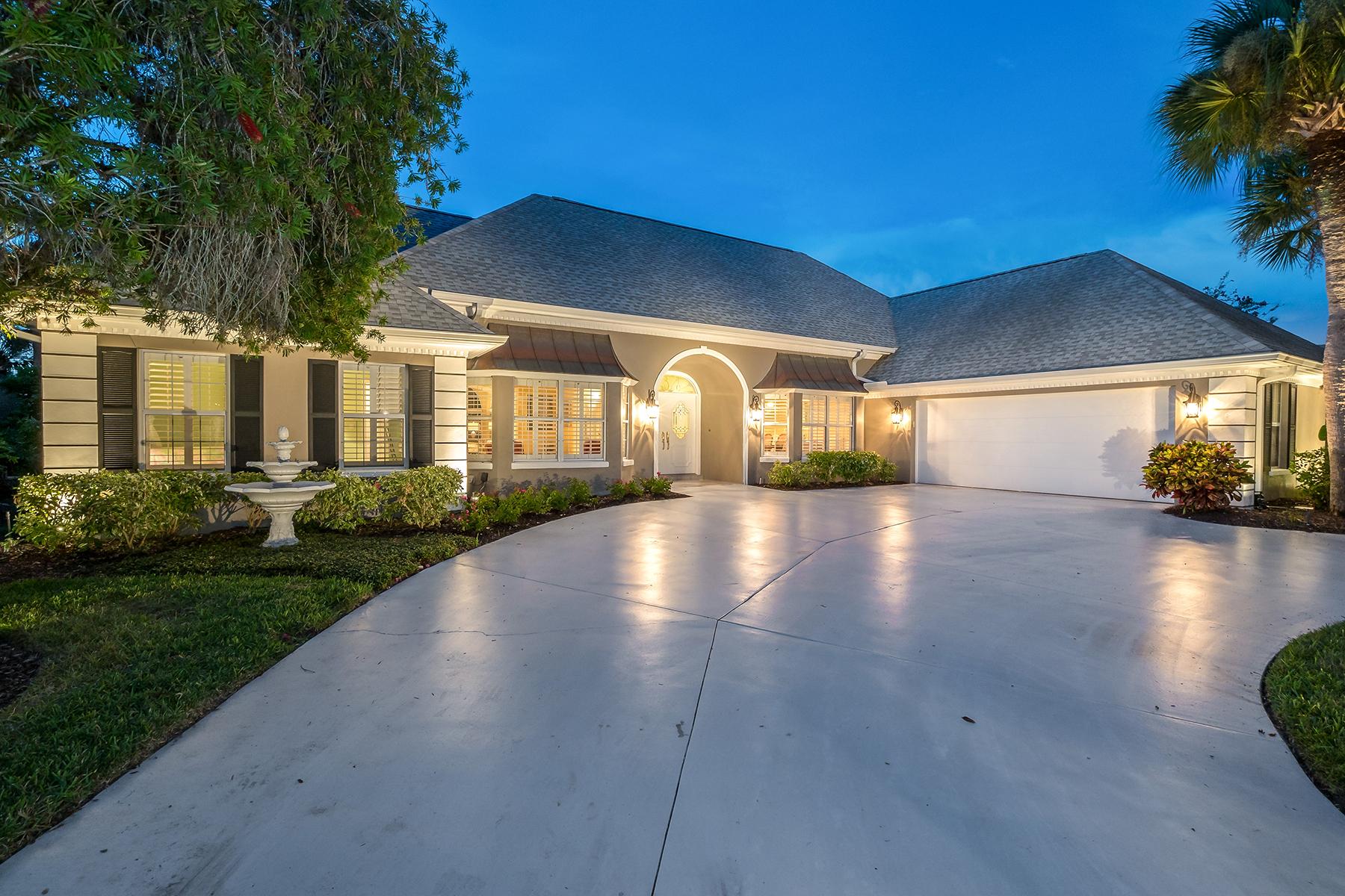 Частный односемейный дом для того Продажа на BOCA ROYALE 26 Golf View Dr, Englewood, Флорида, 34223 Соединенные Штаты