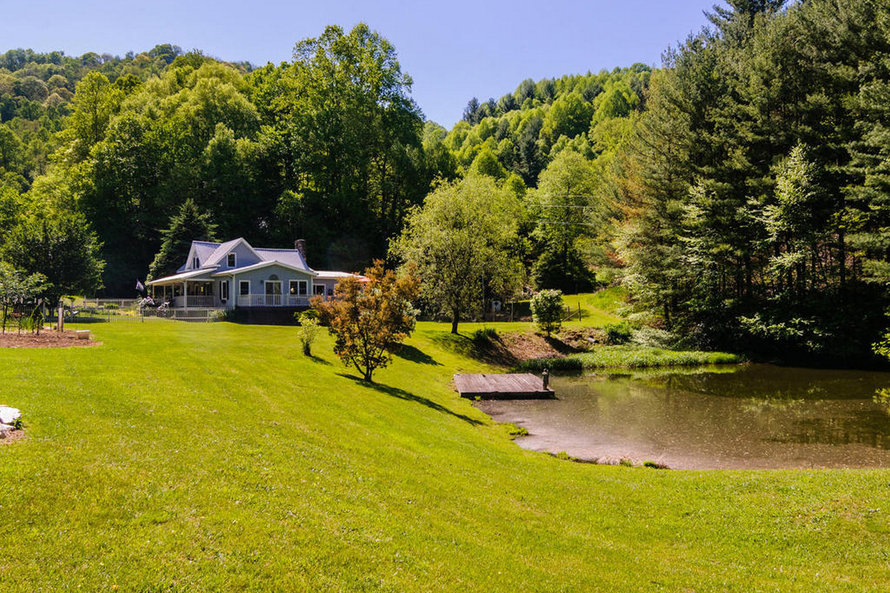 Land for Sale at LAUGHING ROOSTER FARM 500 Mountain View Rd Hot Springs, North Carolina, 28743 United StatesIn/Around: Asheville