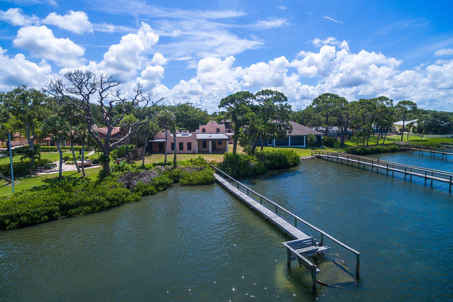Частный односемейный дом для того Продажа на NOKOMIS 2321 Bayshore Rd Nokomis, Флорида, 34275 Соединенные Штаты