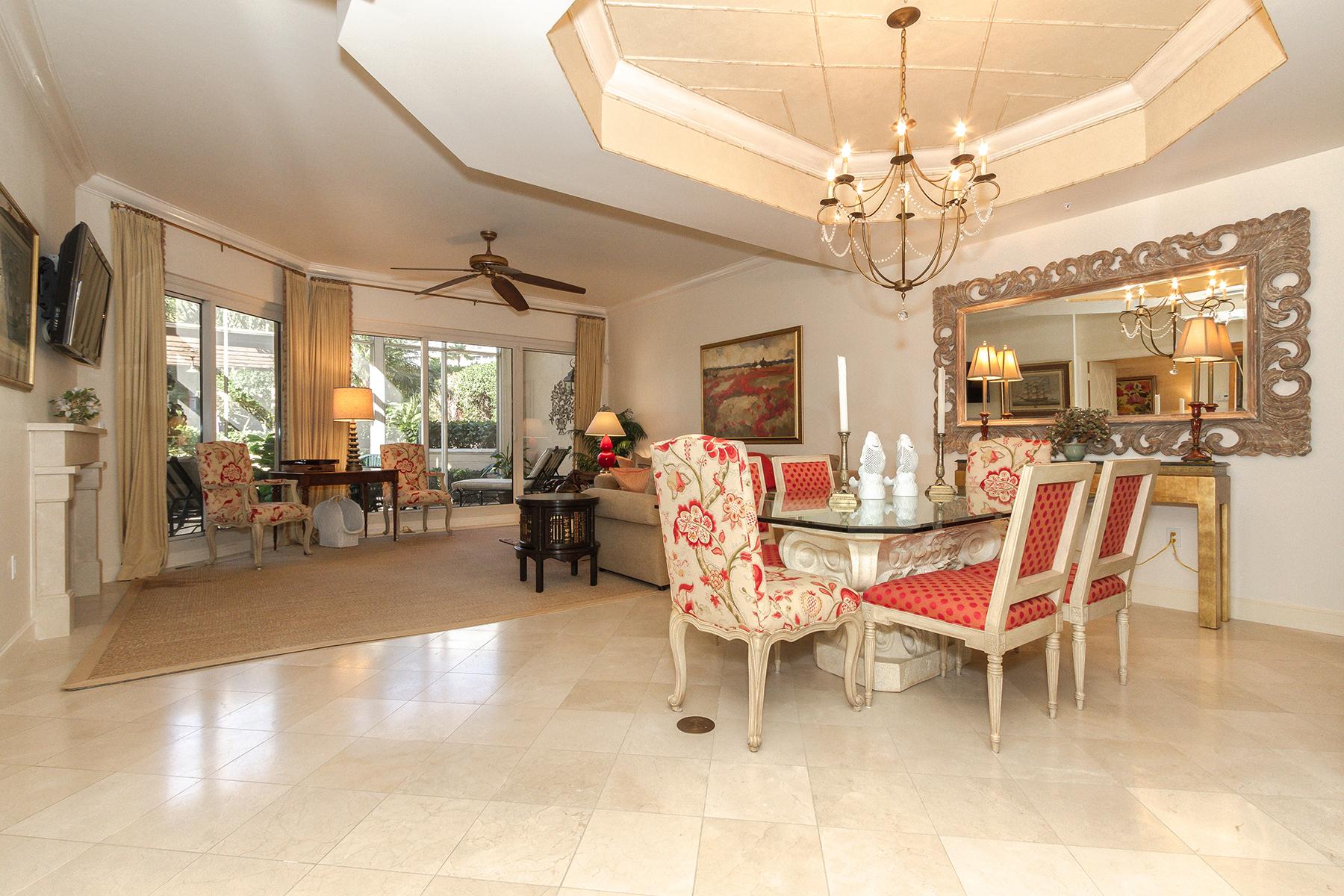 独户住宅 为 出租 在 PARK SHORE - BRITTANY 4021 Gulf Shore Blvd N V19 那不勒斯, 佛罗里达州 34103 美国