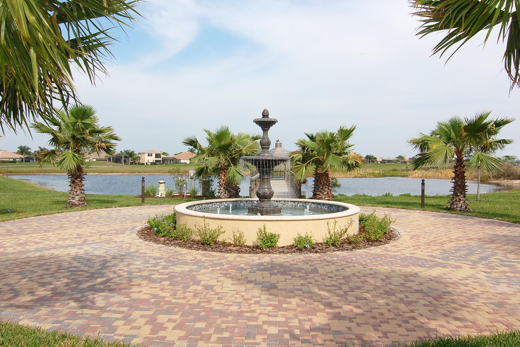 Maison accolée pour l Vente à MIRAMAR 8132 Miramar Way Lakewood Ranch, Florida, 34202 États-Unis