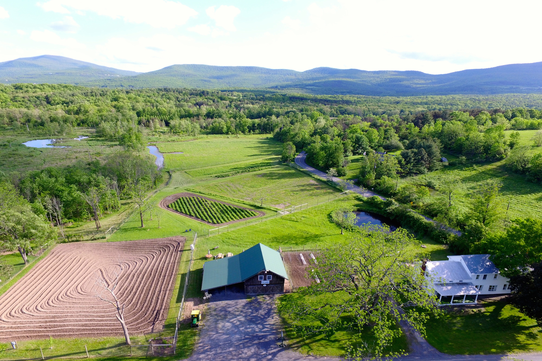Maison unifamiliale pour l Vente à Greene Farms 1043 Stone Bridge Rd Cornwallville, New York 12418 États-Unis