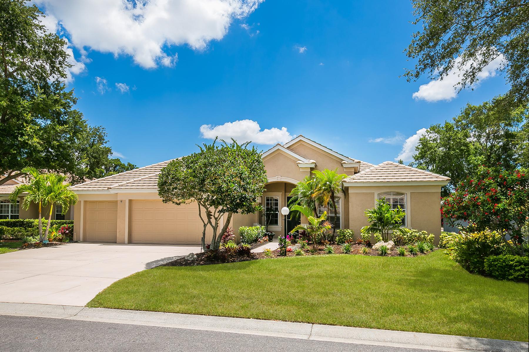 獨棟家庭住宅 為 出售 在 THREE OAKS 5572 Oak Grove Ct Sarasota, 佛羅里達州, 34233 美國
