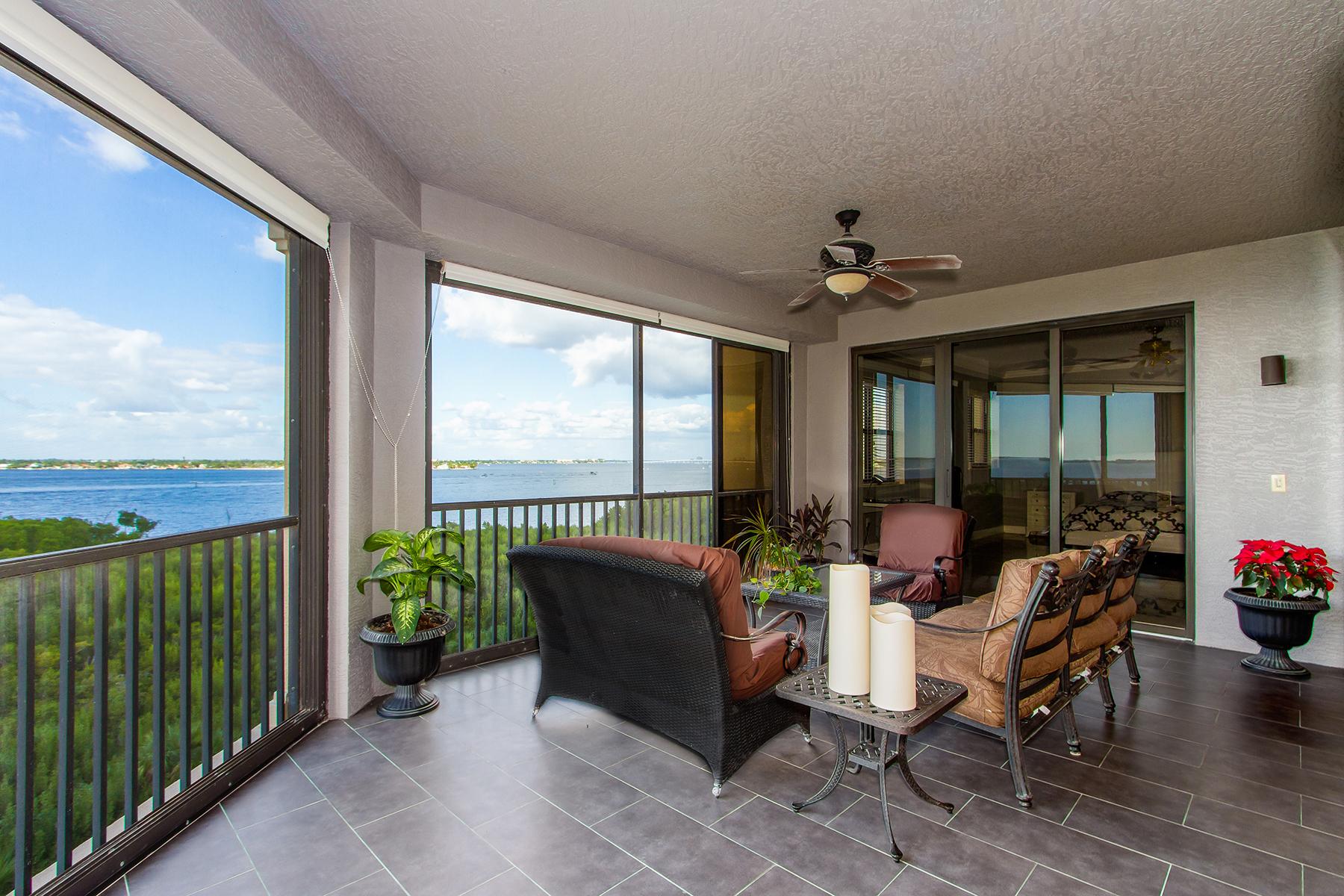 콘도미니엄 용 매매 에 GULF HARBOUR YACHT & COUNTRY CLUB - PALMAS DEL SOL 11600 Court Of Palms 402 Fort Myers, 플로리다, 33908 미국