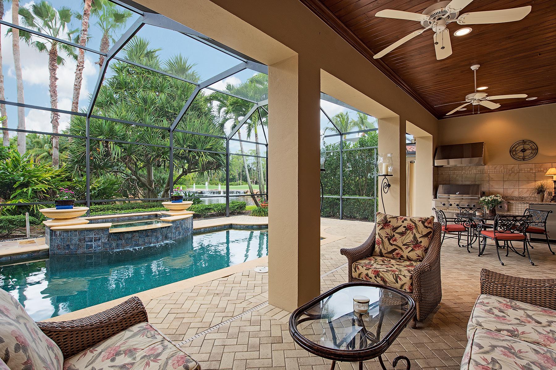 Maison unifamiliale pour l Vente à TIBURON - SERAFINA 2883 Tiburon Blvd E Naples, Florida, 34109 États-Unis