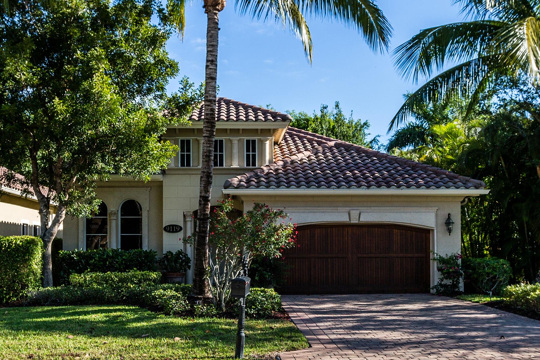 Частный односемейный дом для того Продажа на FIDDLERS CREEK 9119 Cherry Oaks Ln Naples, Флорида, 34114 Соединенные Штаты
