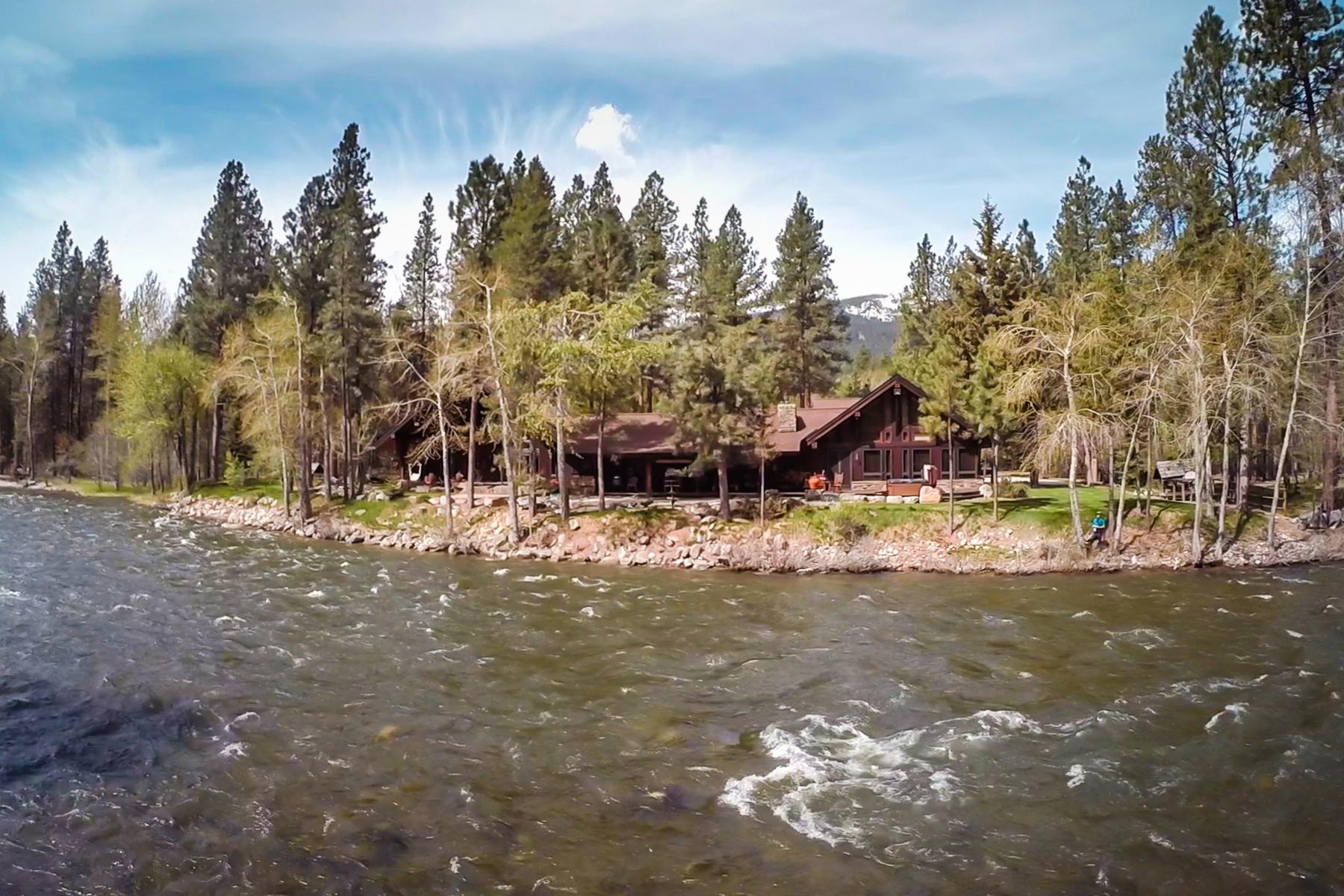 Moradia para Venda às 5492 West Fork Road 5492 West Fork Rd Darby, Montana, 59829 Estados Unidos