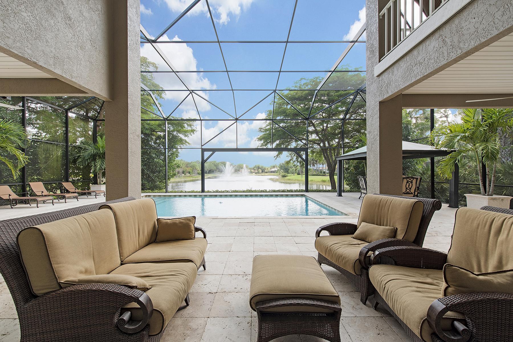 Single Family Home for Sale at PELICAN LANDING - LONGLAKE 24560 Woodsage Dr, Bonita Springs, Florida 34134 United States