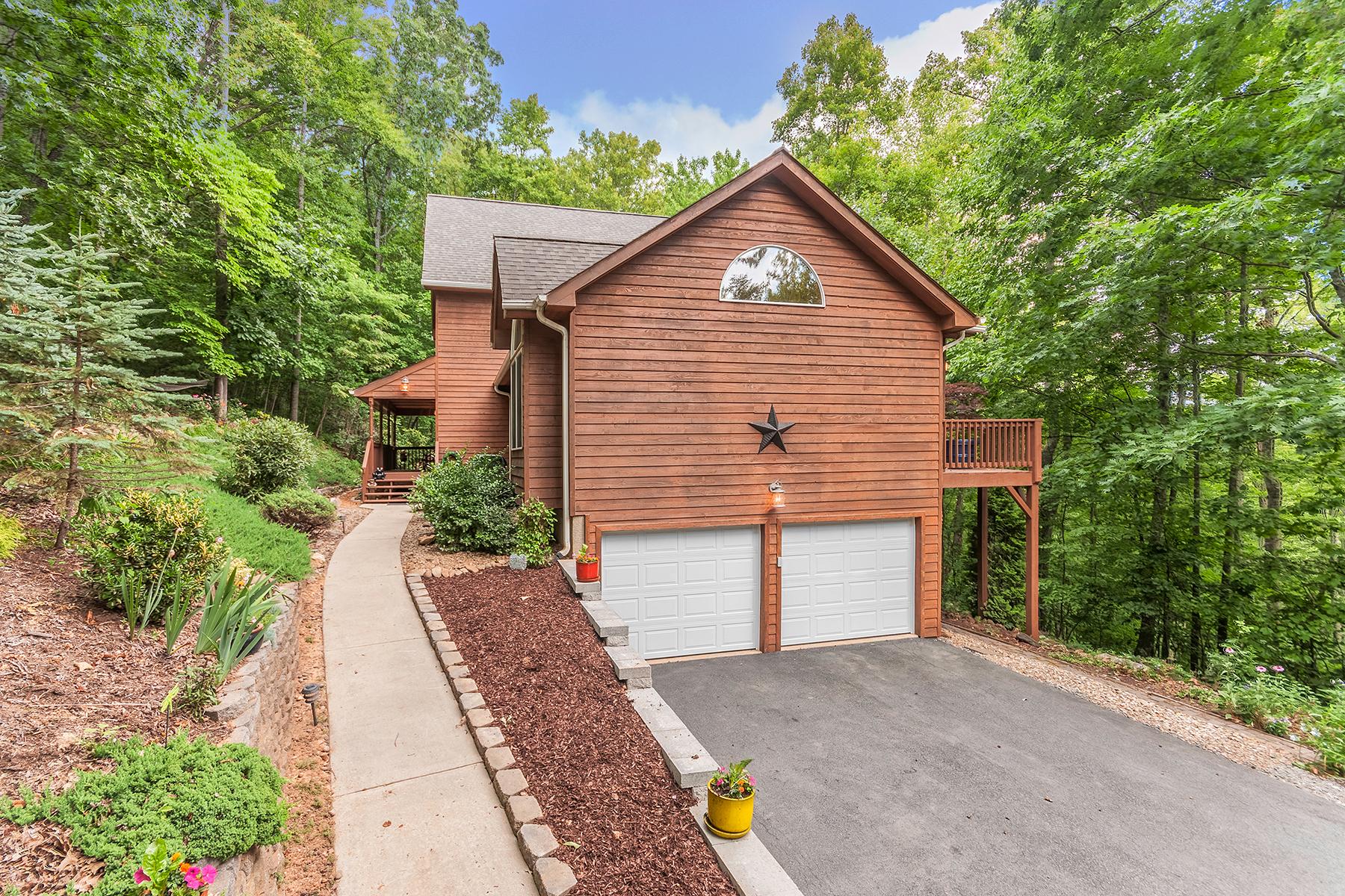 Single Family Home for Sale at BUFFALO MOUNTAIN 309 Mountain Laurel, Asheville, North Carolina 28805 United States