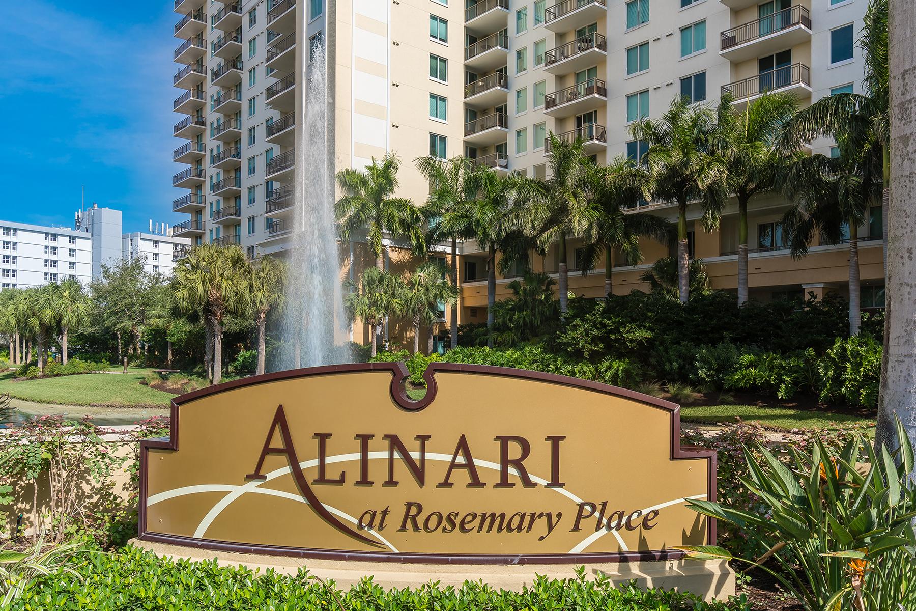 콘도미니엄 용 매매 에 ALINARI 800 N Tamiami Trl 817 Sarasota, 플로리다, 34236 미국