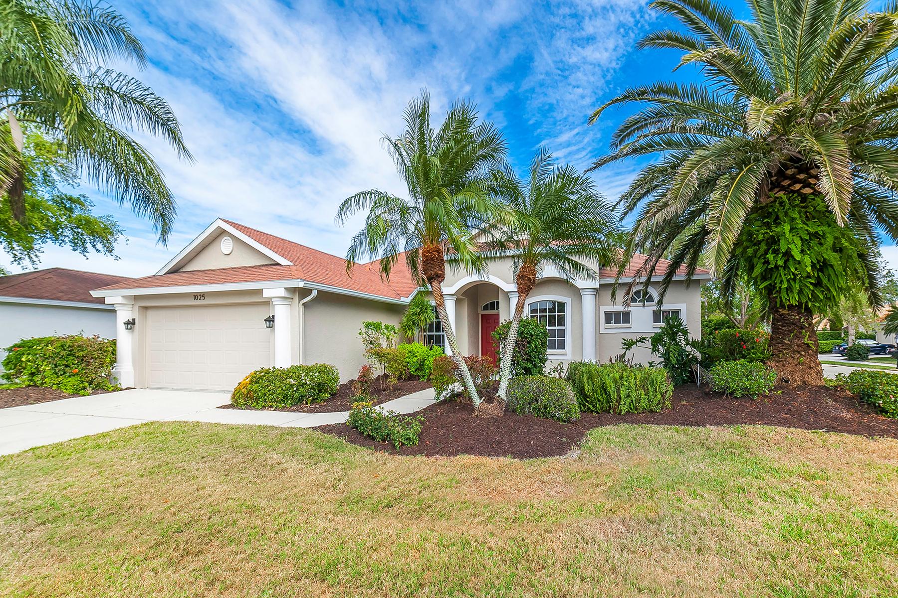 Single Family Home for Sale at WOODLANDS IN RIVENDELL 1025 Oak Preserve Ln, Osprey, Florida, 34229 United States