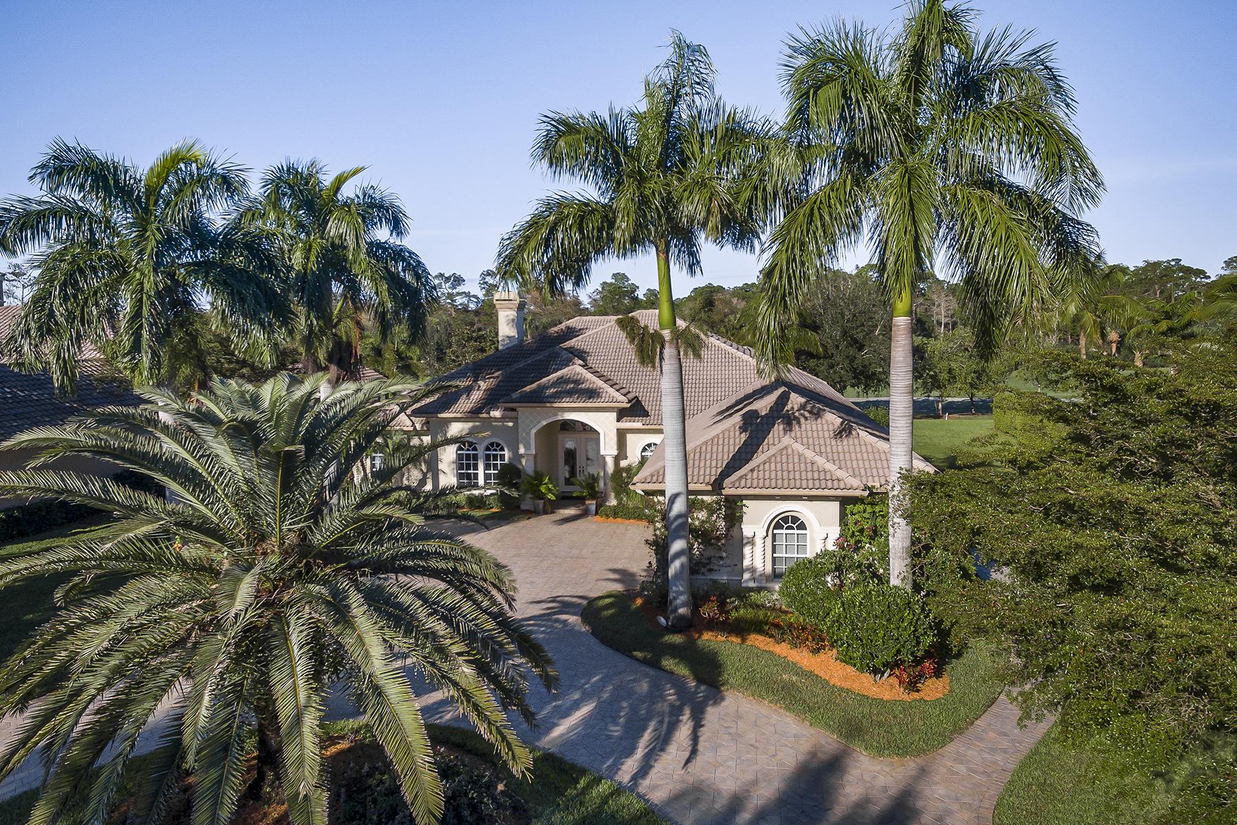 Single Family Home for Sale at LELY RESORT - CLASSICS PLANTATION ESTATES 7619 Palmer Ct Naples, Florida, 34113 United States