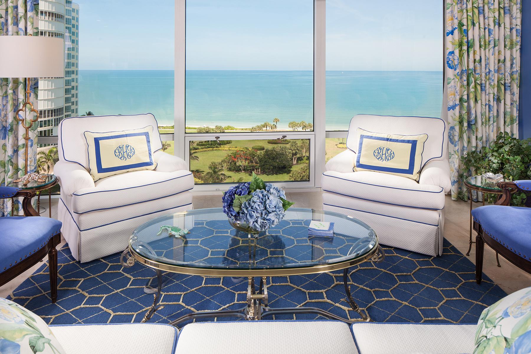 共管式独立产权公寓 为 销售 在 Naples 4201 Gulf Shore Blvd N 1402 那不勒斯, 佛罗里达州, 34103 美国