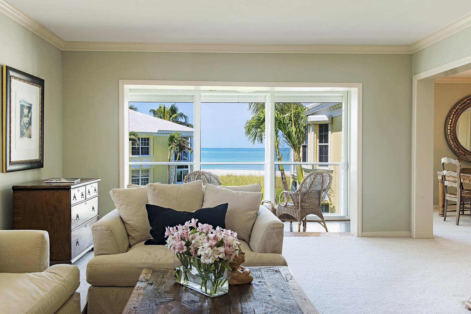 Kat Mülkiyeti için Satış at MOORINGS - BILLOWS 2601 Gulf Shore Blvd N 012 Naples, Florida, 34103 Amerika Birleşik Devletleri