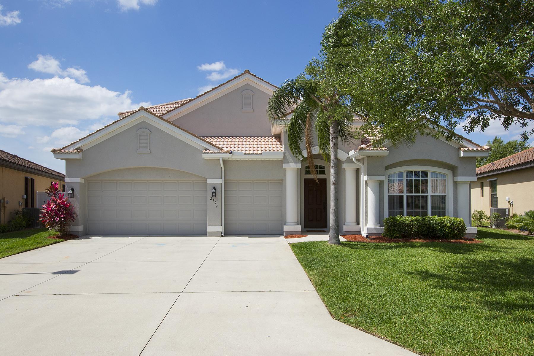 단독 가정 주택 용 매매 에 THE FORUM - PROMENADE 2794 Via Piazza Loop Fort Myers, 플로리다, 33905 미국