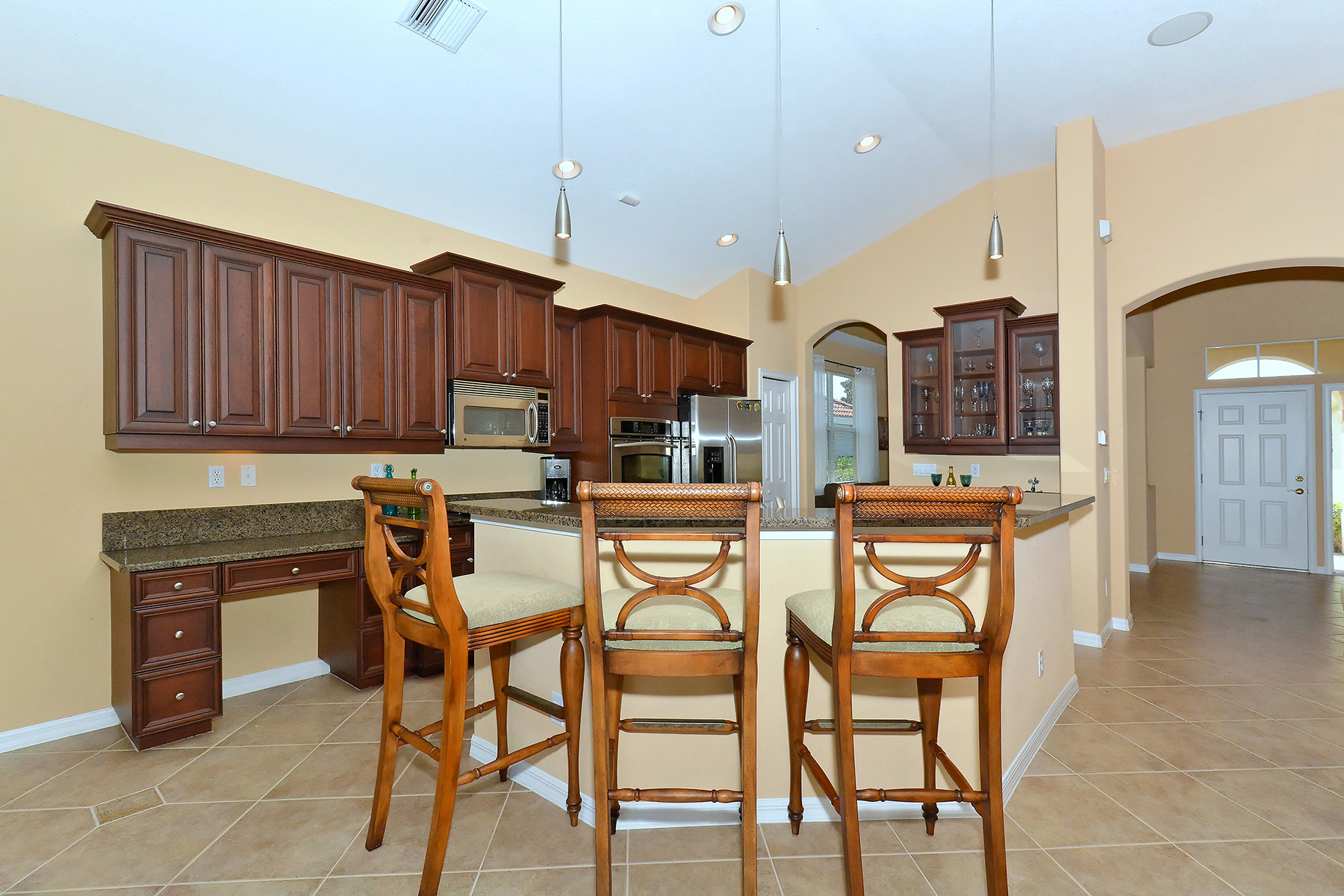 Vivienda unifamiliar por un Venta en VENETIAN GOLF & RIVER CLUB 158 Treviso Ct North Venice, Florida, 34275 Estados Unidos