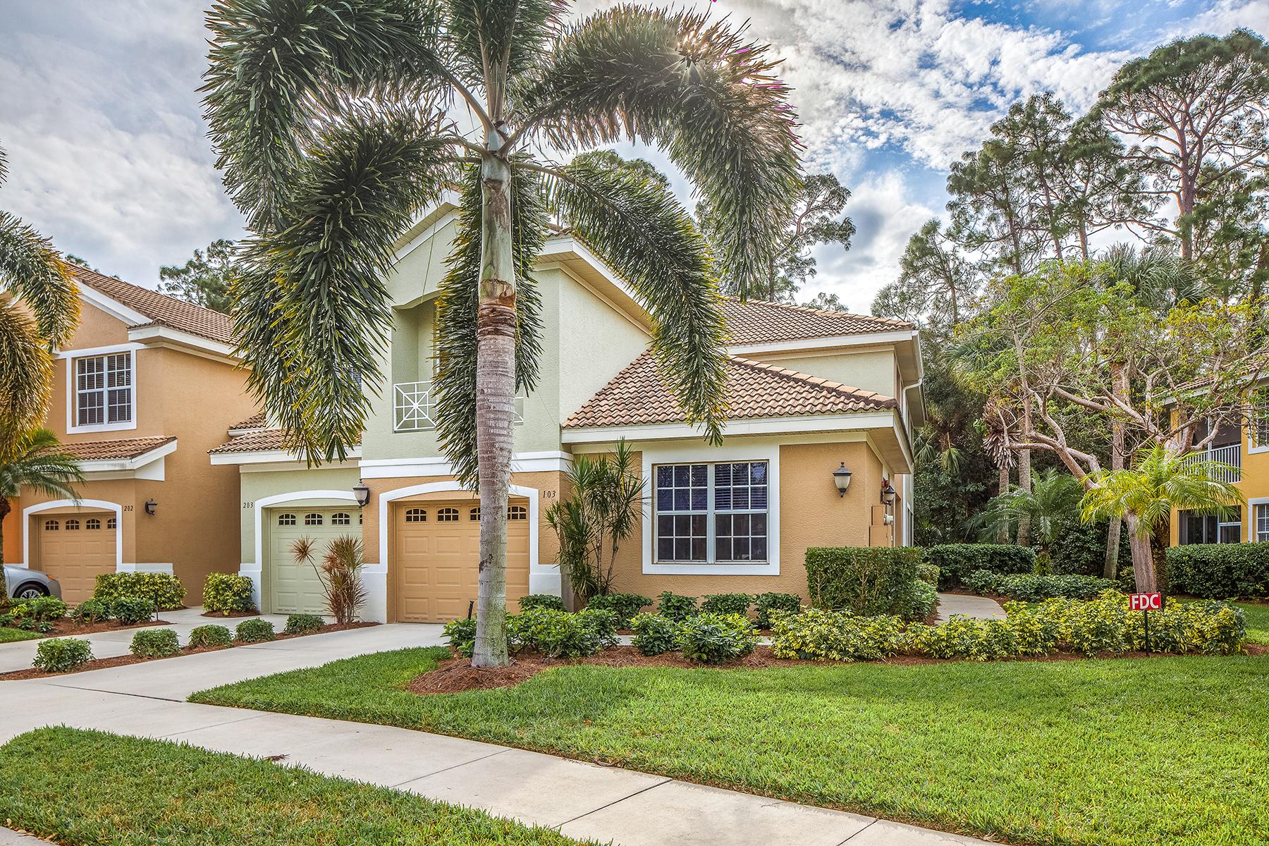コンドミニアム のために 売買 アット STONEBRIDGE - BRAEBURN 1675 Winding Oaks Way 103 Naples, フロリダ, 34109 アメリカ合衆国