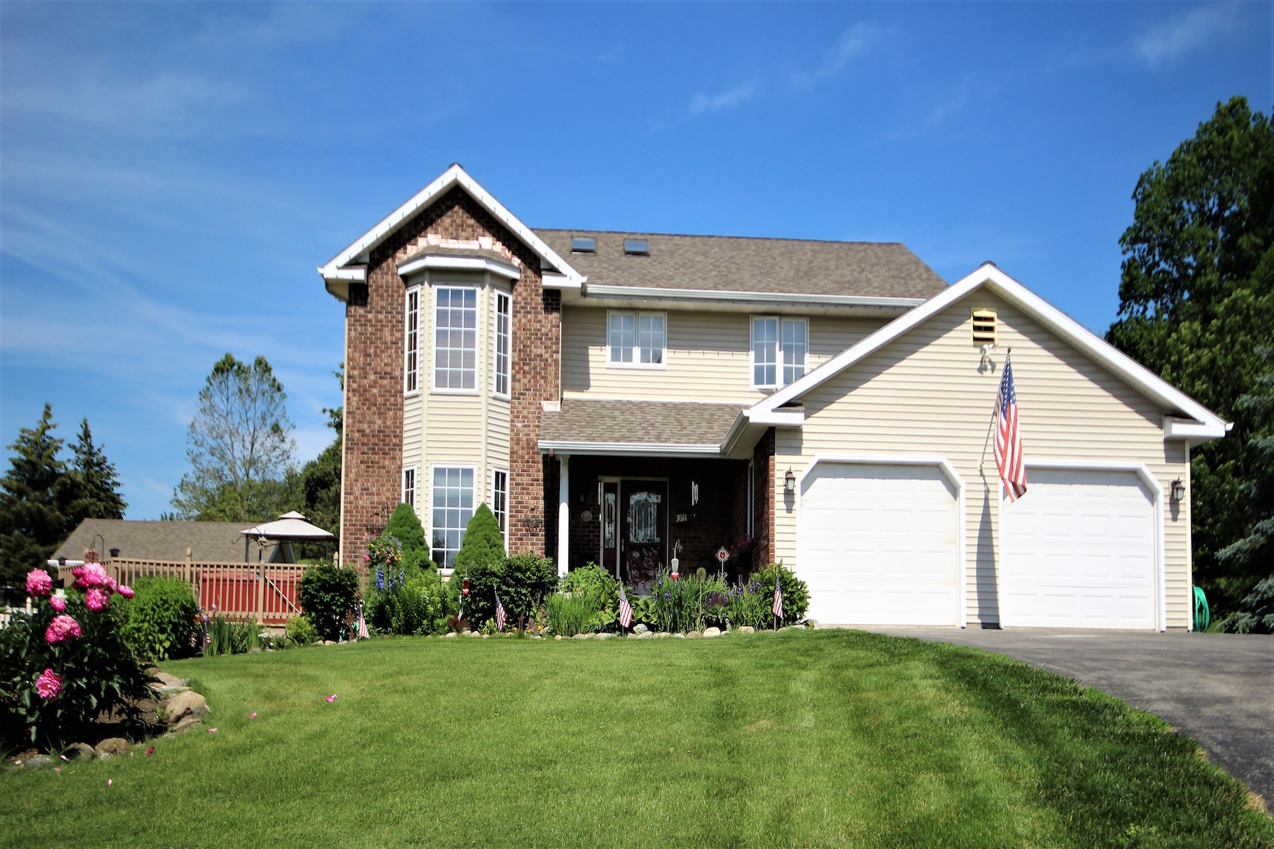Single Family Home for Sale at Custom Jewel On A Hill With Fireworks! 249 Kaydeross Av East, Saratoga Springs, New York, 12866 United States