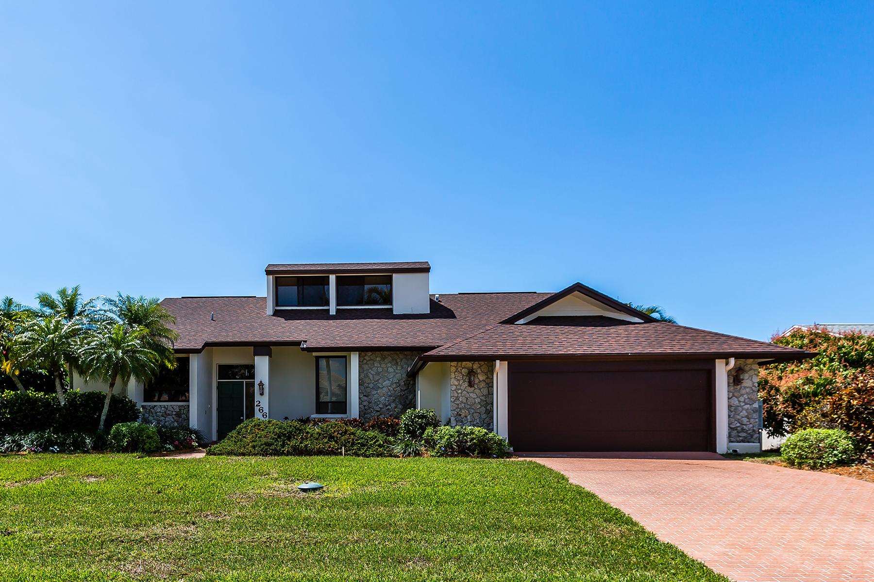 獨棟家庭住宅 為 出售 在 MARCO ISLAND 266 Polynesia Ct Marco Island, 佛羅里達州, 34145 美國