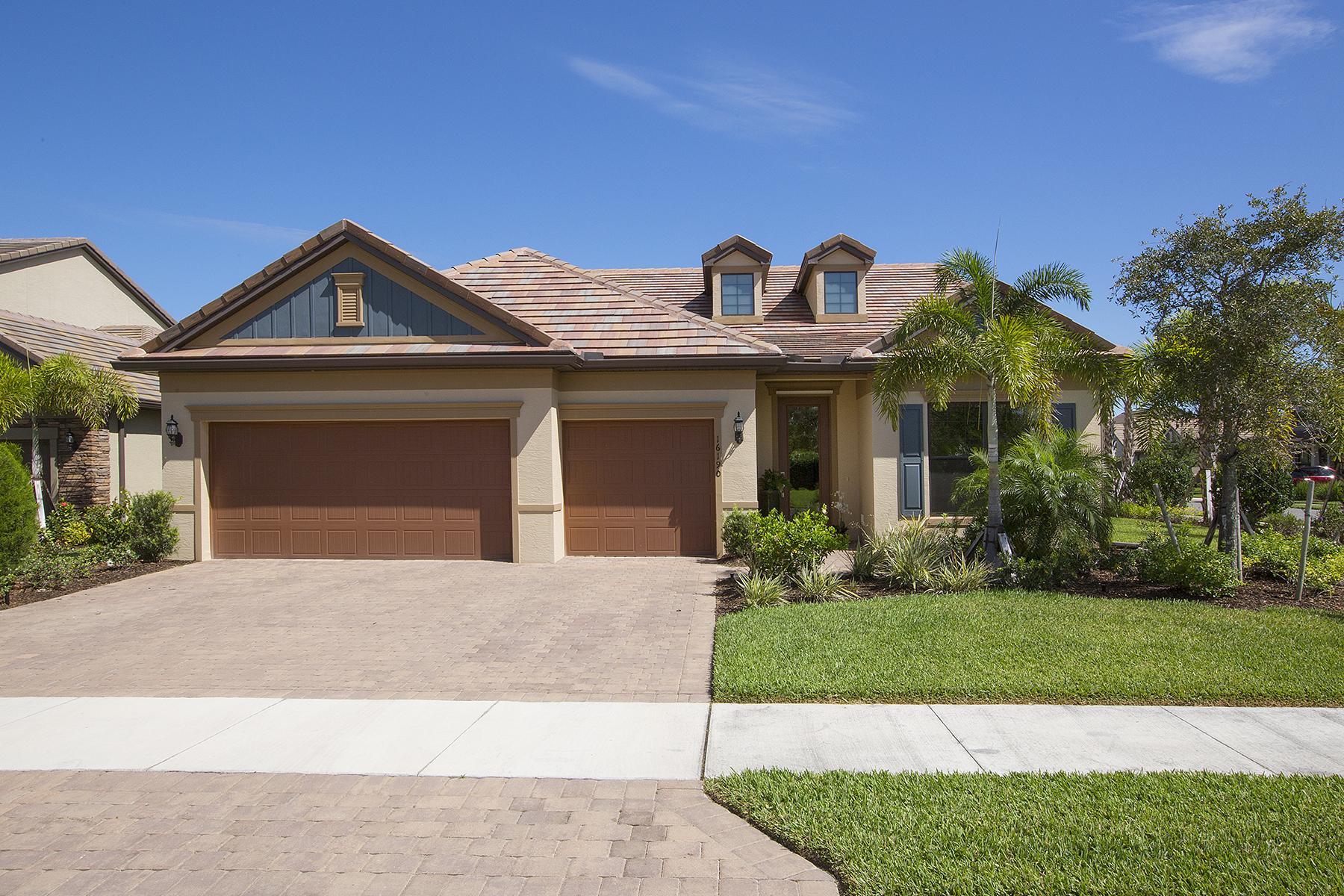 Single Family Home for Sale at CAMDEN LAKES 16190 Camden Lakes Cir, Naples, Florida 34110 United States