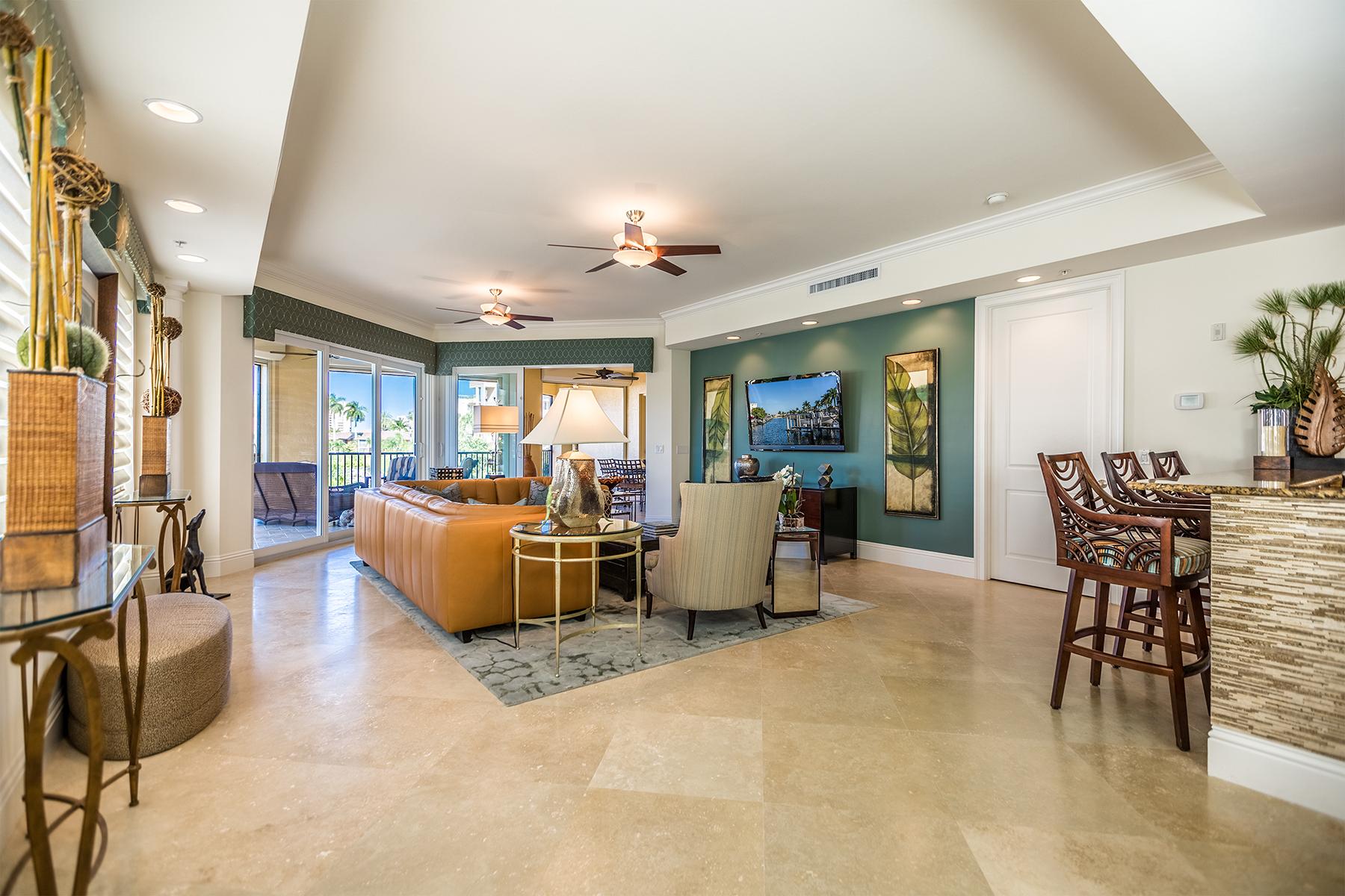 共管式独立产权公寓 为 销售 在 MARCO ISLAND - MARINERS PALM HARBOR 908 Panama Ct 201 马可岛, 佛罗里达州, 34145 美国