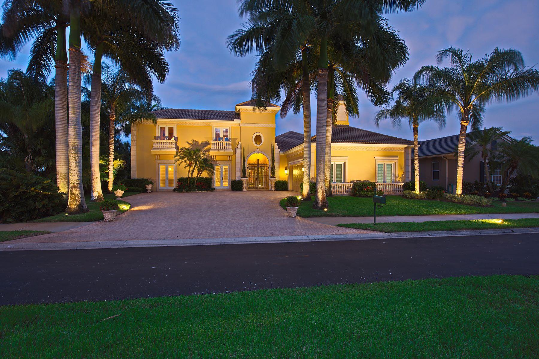 獨棟家庭住宅 為 出售 在 BOCA ROYALE 75 Grande Fairway Englewood, 佛羅里達州, 34223 美國