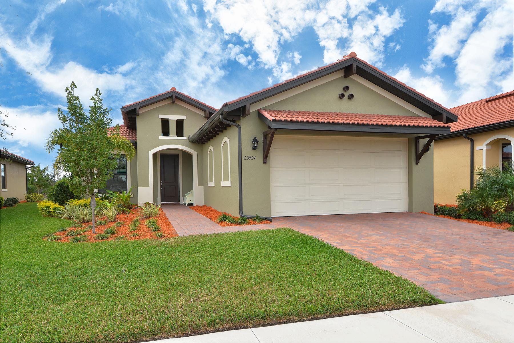 Casa para uma família para Venda às SARASOTA NATIONAL 23421 Copperleaf Dr Venice, Florida, 34293 Estados Unidos