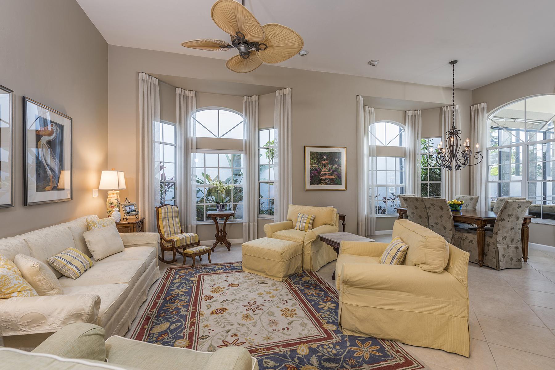 獨棟家庭住宅 為 出售 在 AUDUBON - DEVON GREEN 15275 Devon Green Ln Naples, 佛羅里達州, 34110 美國