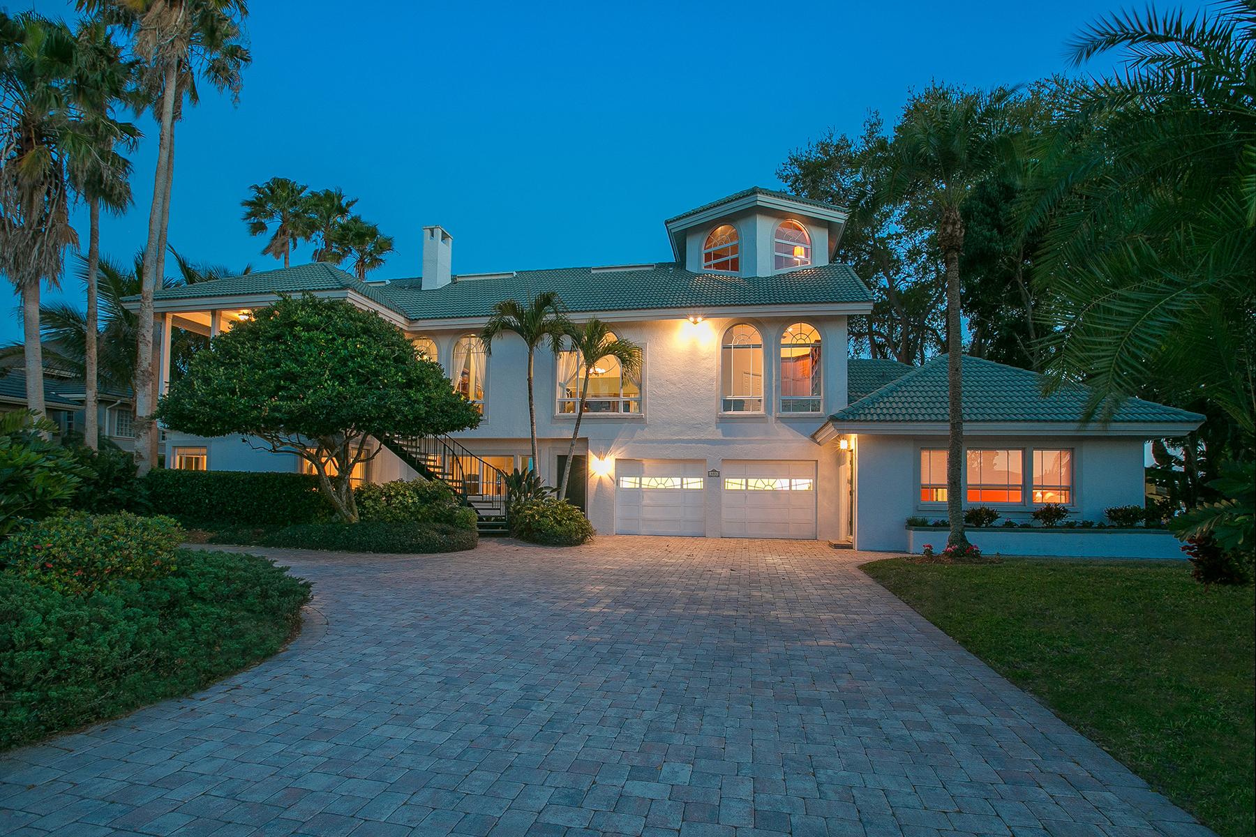 Casa Unifamiliar por un Venta en ENCHANTED ISLES 403 Sunrise Dr Nokomis, Florida, 34275 Estados Unidos