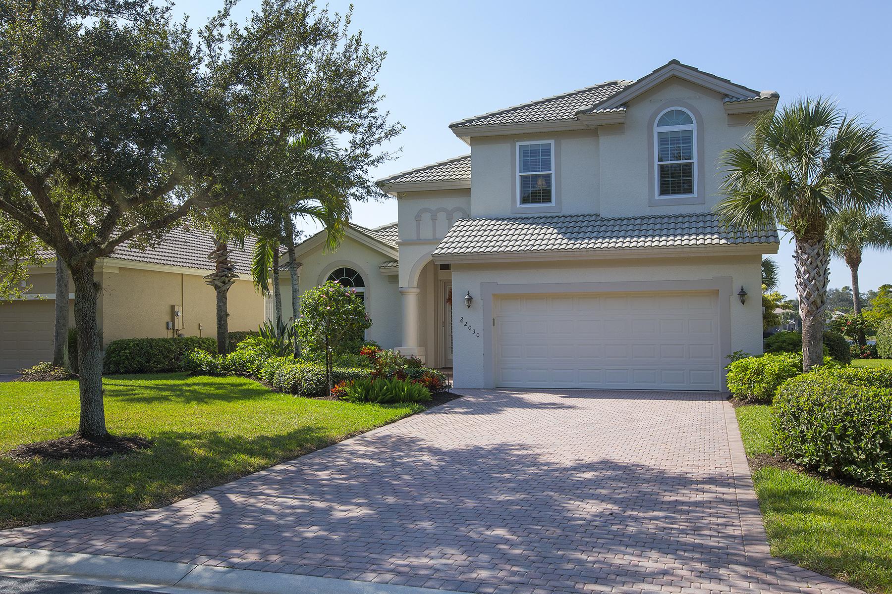 Einfamilienhaus für Verkauf beim LONGLEAF - SHADOW WOOD AT THE BROOKS 22030 Longleaf Trail Dr Estero, Florida, 34135 Vereinigte Staaten
