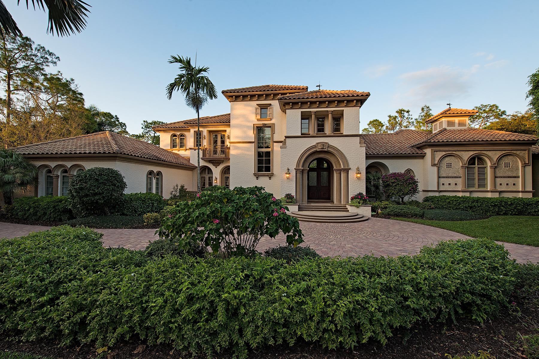 独户住宅 为 出租 在 QUAIL WEST - QUAIL WEST 6529 Highcroft Dr 那不勒斯, 佛罗里达州 34119 美国