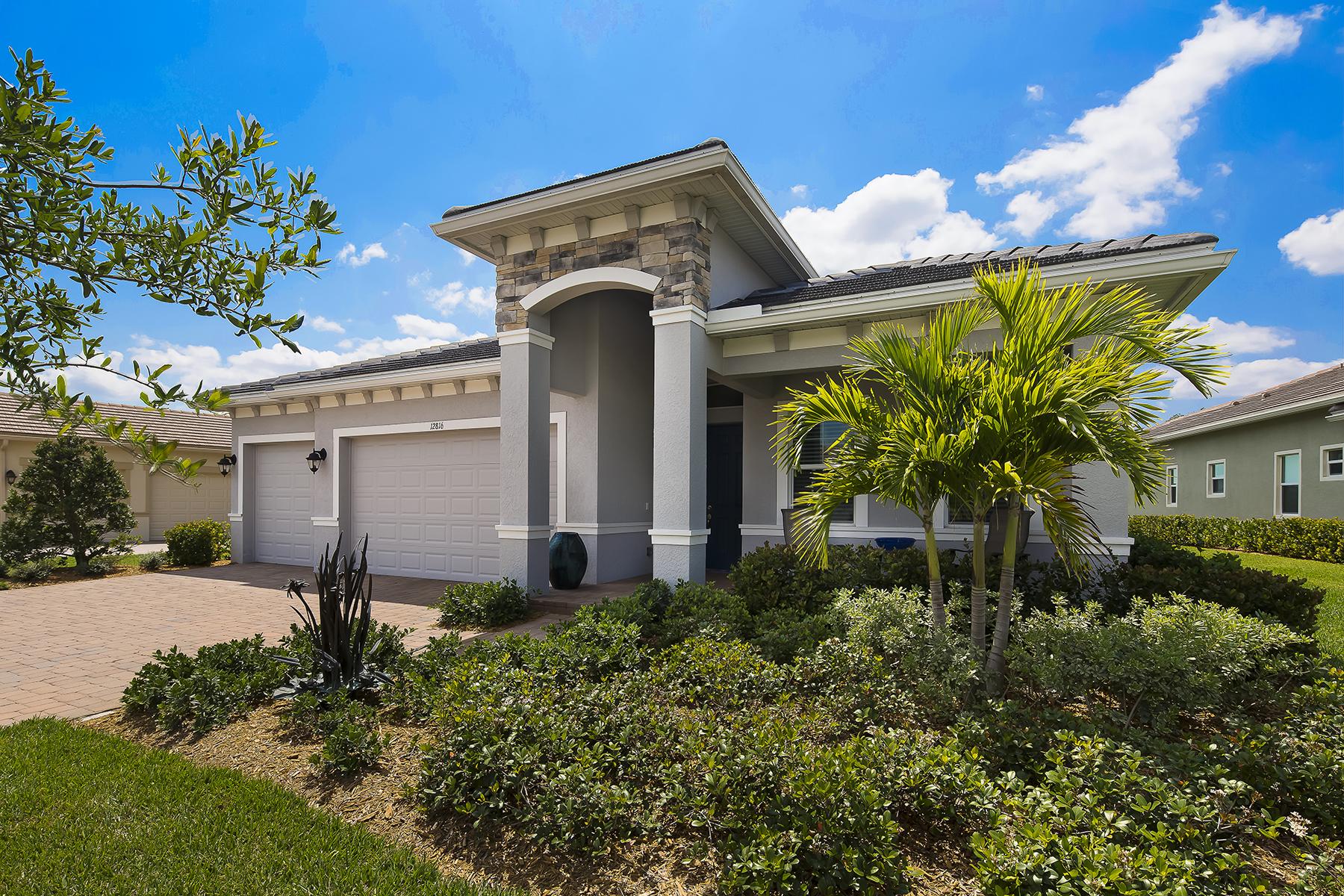 Casa Unifamiliar por un Venta en VERANDAH - FAIRWAY COVE 12816 Fairway Cove Ct Fort Myers, Florida, 33905 Estados Unidos